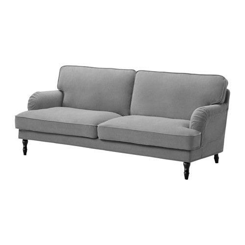 Sofa Covers STOCKSUND Sofa Ljungen gray black wood