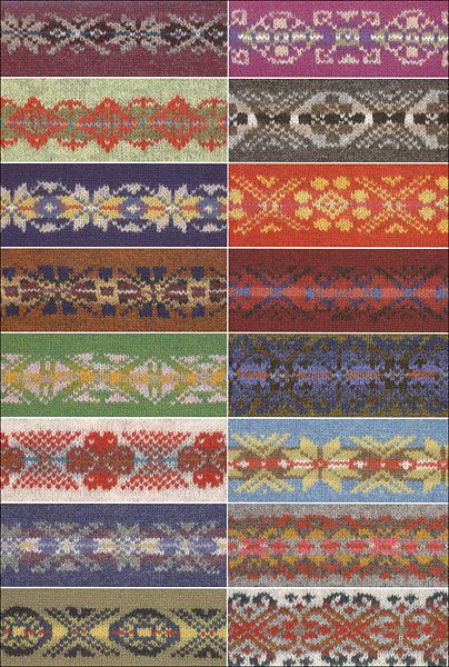 200 Fair Isle Motifs: A Knitter\'s Directory from KnitPicks.com ...