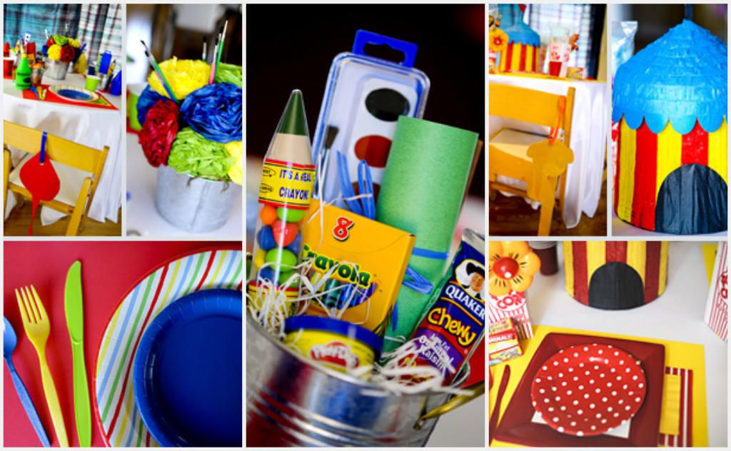 Wedding Gift Ideas For Kids: Kids' Table: Ideas For Entertaining Children At Your