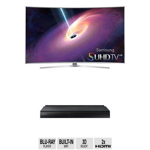 awesome Samsung UN88JS9500 Curved 88-Inch TV with BD-J7500 Blu-ray Player