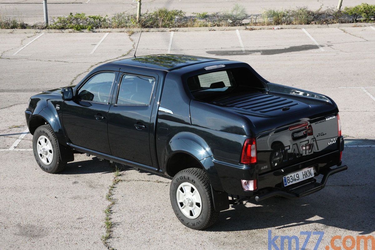 tata xenon doble cabina 4x4 150 cv gama xenon 2012 pick up quartz black exterior lateral. Black Bedroom Furniture Sets. Home Design Ideas