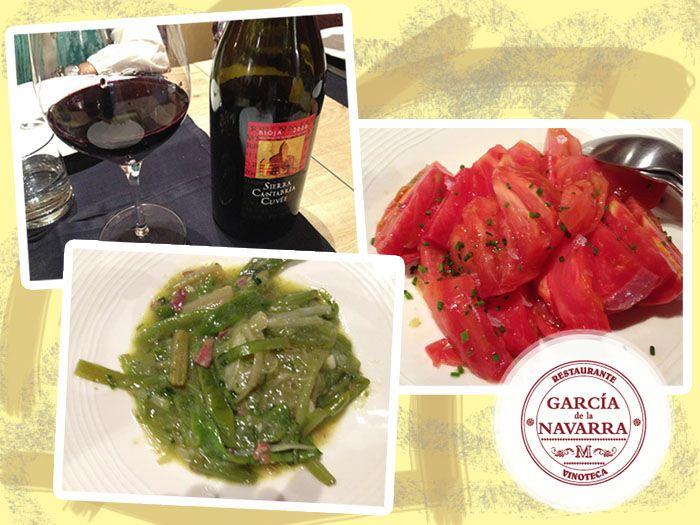 Hace unos días tuvimos una visita muy especial a nuestro Restaurante-Vinoteca y esto fue lo que tomó :-) www.garciadelanavarra.com #Madrid #vinos #gastronomía