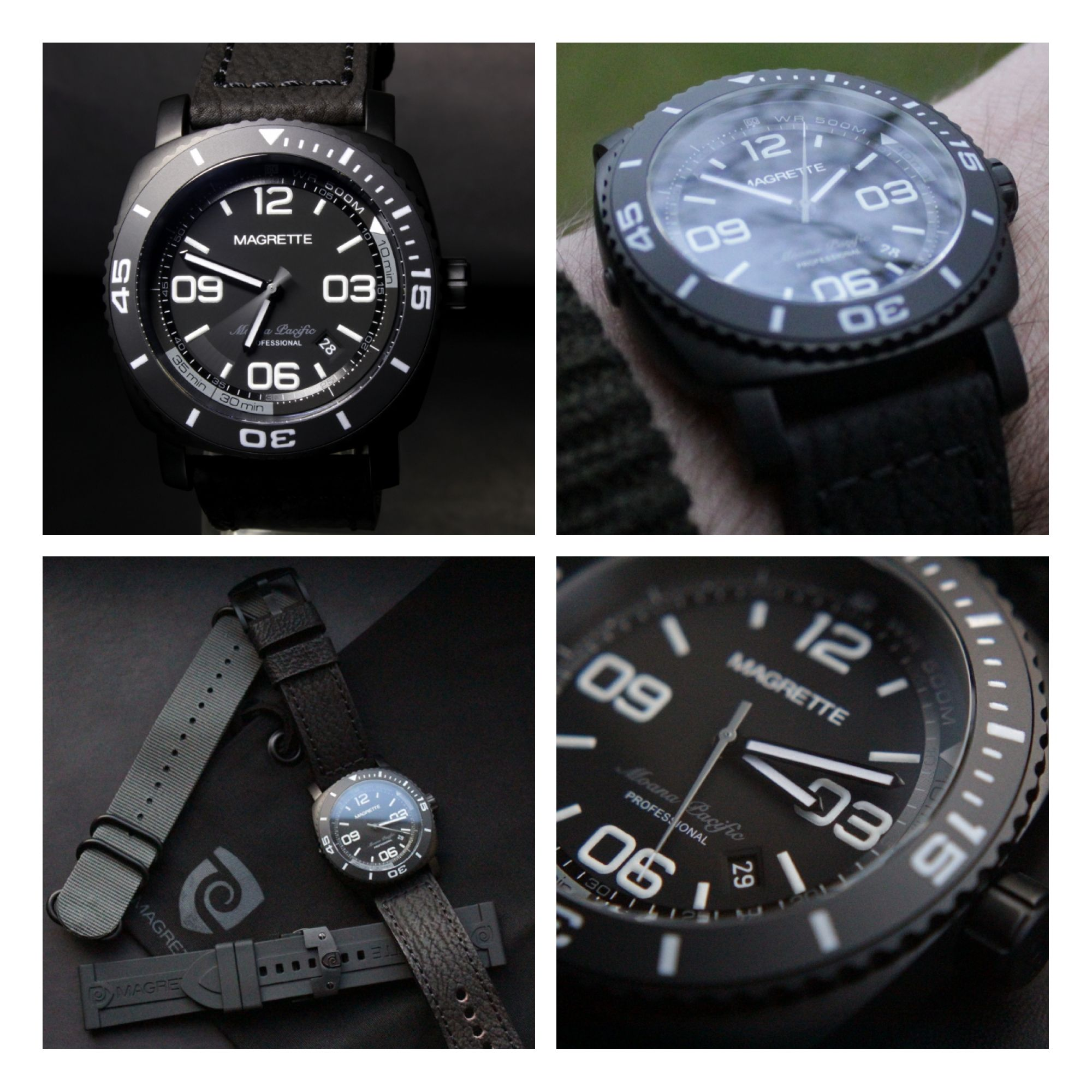 Magrette Moana Pacific Diver Pro PVD/All Black