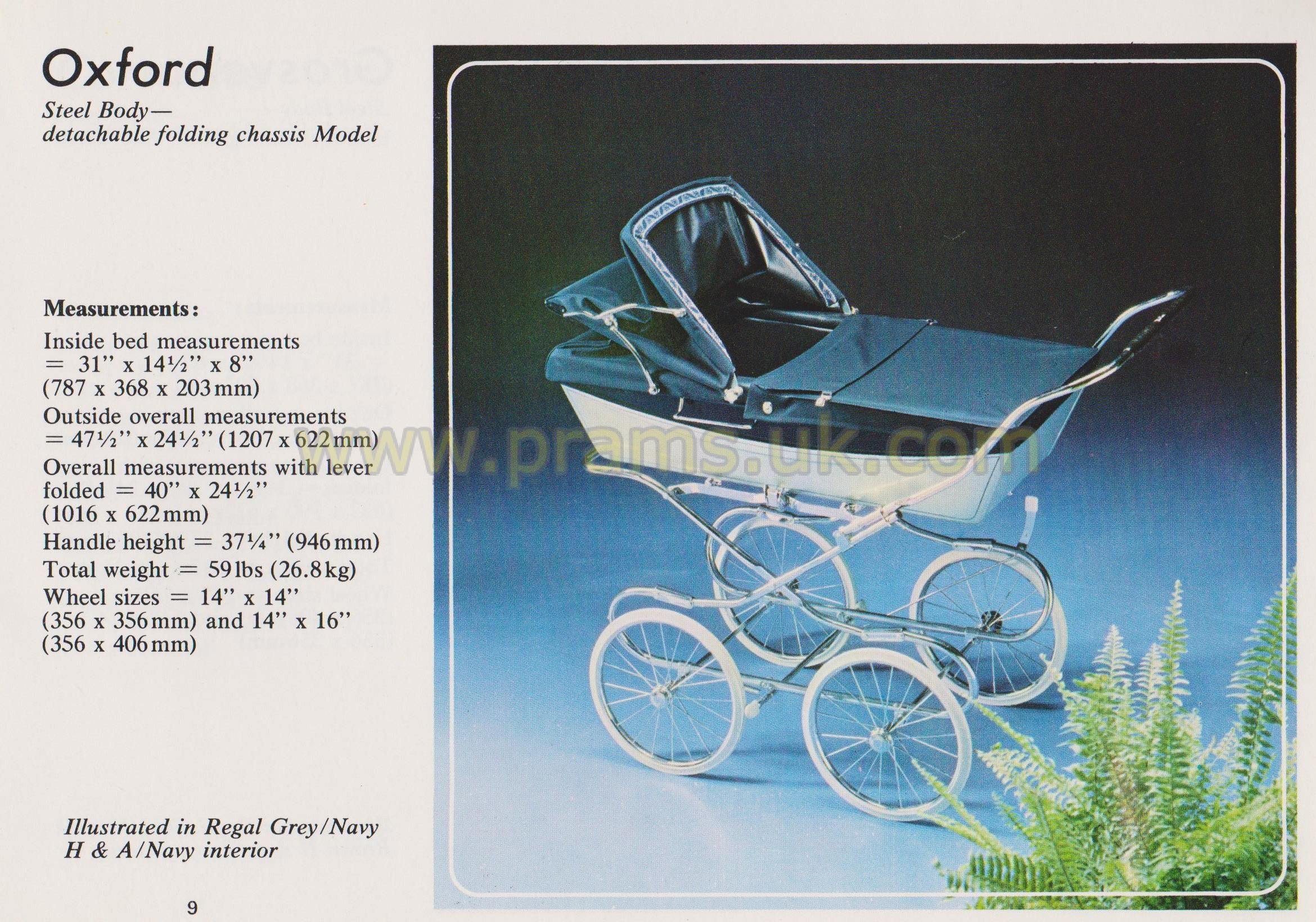 Silver Cross Oxford Coach Built Pram Spares in 2020