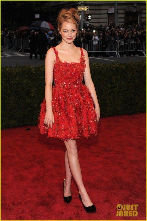Emma Stone Met gala 2012. perfection