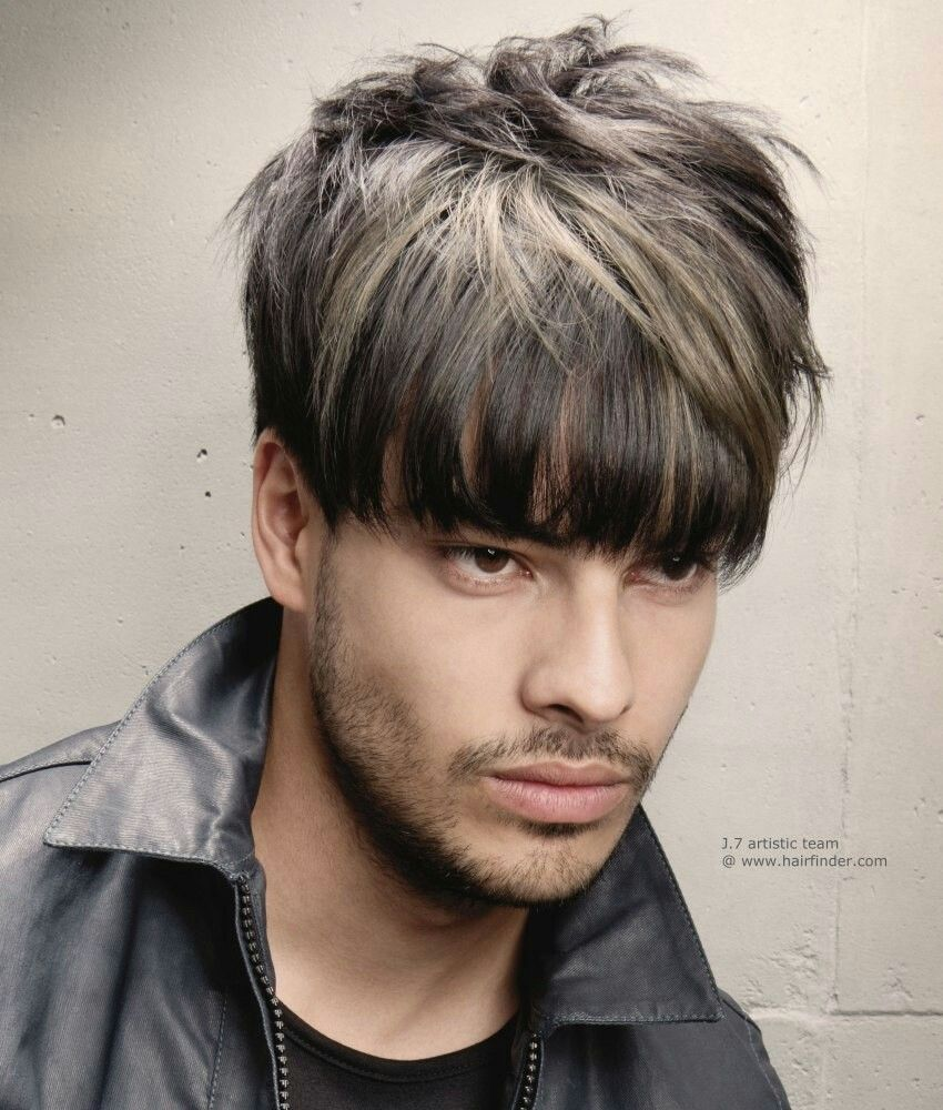 Mens Full Heavy Metal Hairstyle Haircut Mens Hairstyle