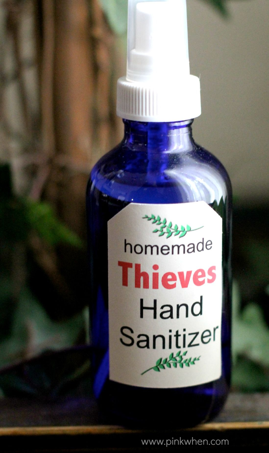 DIY Homemade All Natural Hand Sanitizer Natural hand