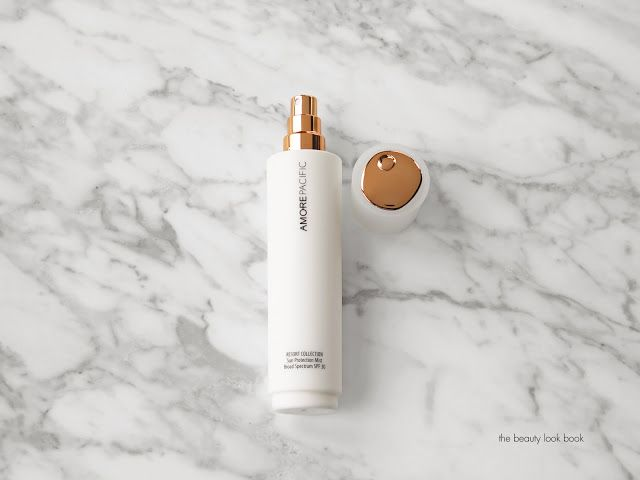 The Beauty Look Book - AmorePacific Resort Collection Sun Protection Mist