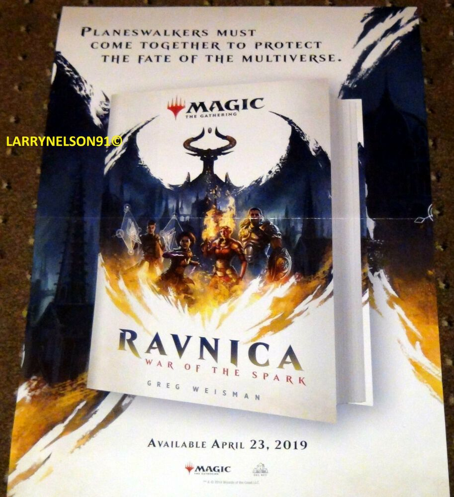 MTG POSTER MAGIC THE GATHERING WAR OF THE SPARK