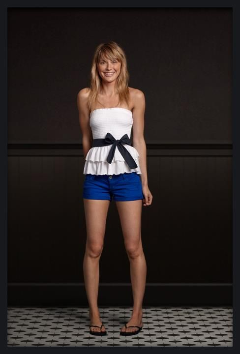 I'm going to save money, find a shirt and shorts like that at Marshall's and add a bow. Screw hollister.