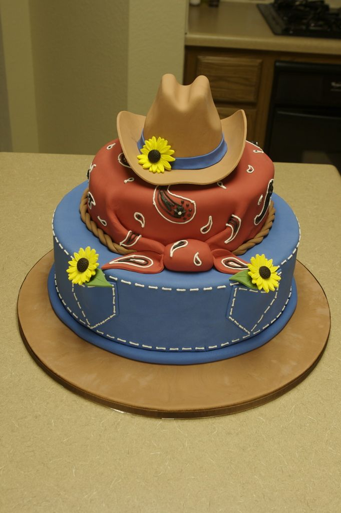 Western Theme Cakes 21st Birthday Western Themed cake Birthday