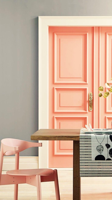 Home interior design color schemes love that color  happy in   pinterest  color home and home decor