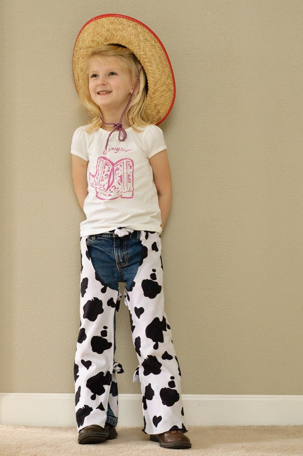 Cow hide chaps Lilybug Designs: Yeehaw, It\'s Rodeo Time! | sewing ...