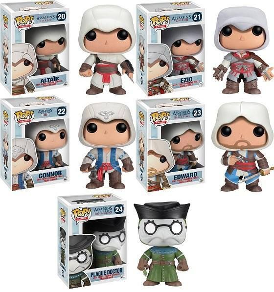 ASSASSIN'S CREED: Welcome Funko POP to the Brotherhood — GeekTyrant