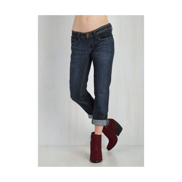 Urban Skinny Crop on the Bandwagon Jeans (70 AUD) ❤ liked on Polyvore featuring jeans, apparel, blue, bottoms, denim pant ve skinny denim pant