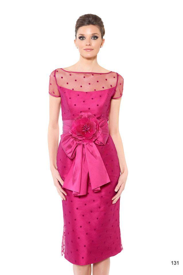 Vestido de fiesta corto de Patricia Avendaño | Vestidos de Madrina ...