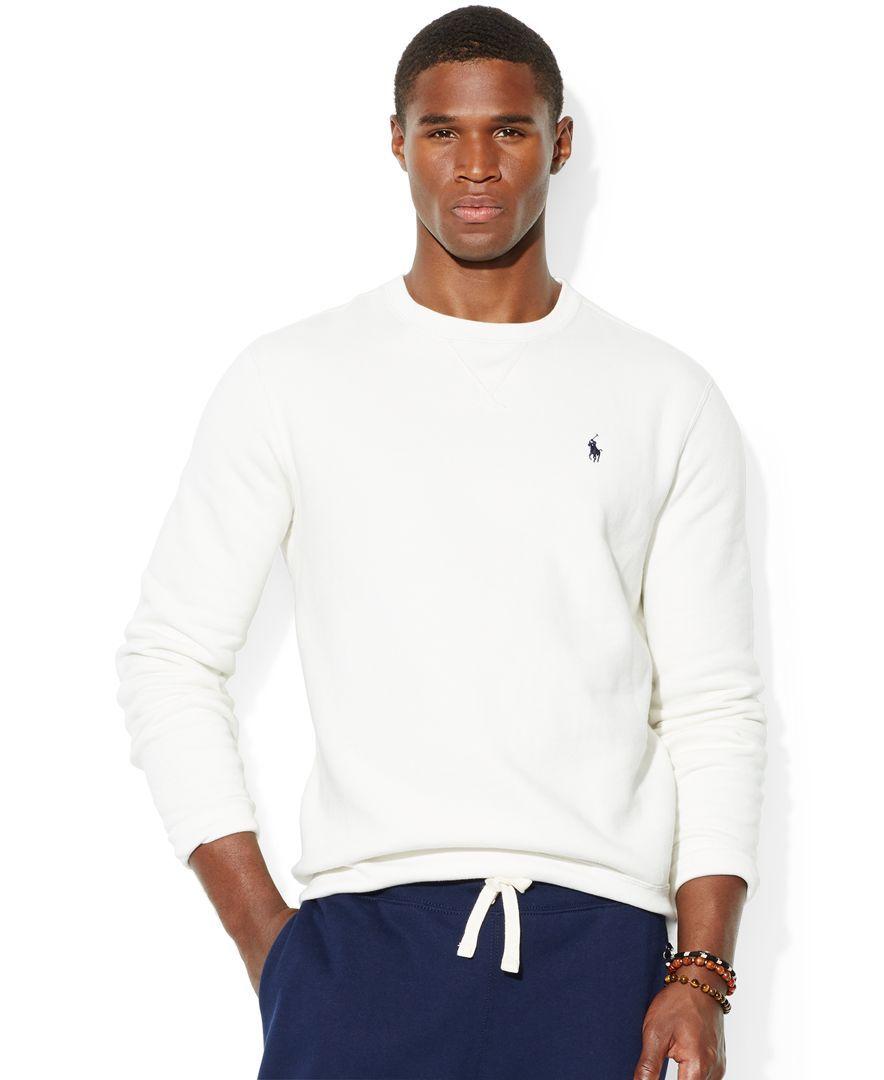 0874f8fd57c0 Polo Ralph Lauren Classic Fleece Crew-Neck Sweater