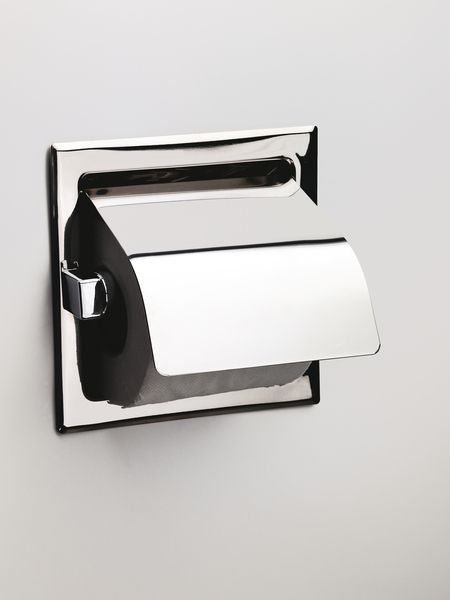 Sonia Wall Recessed Toilet Roll Holder with Flap 025107 | Toilet ...