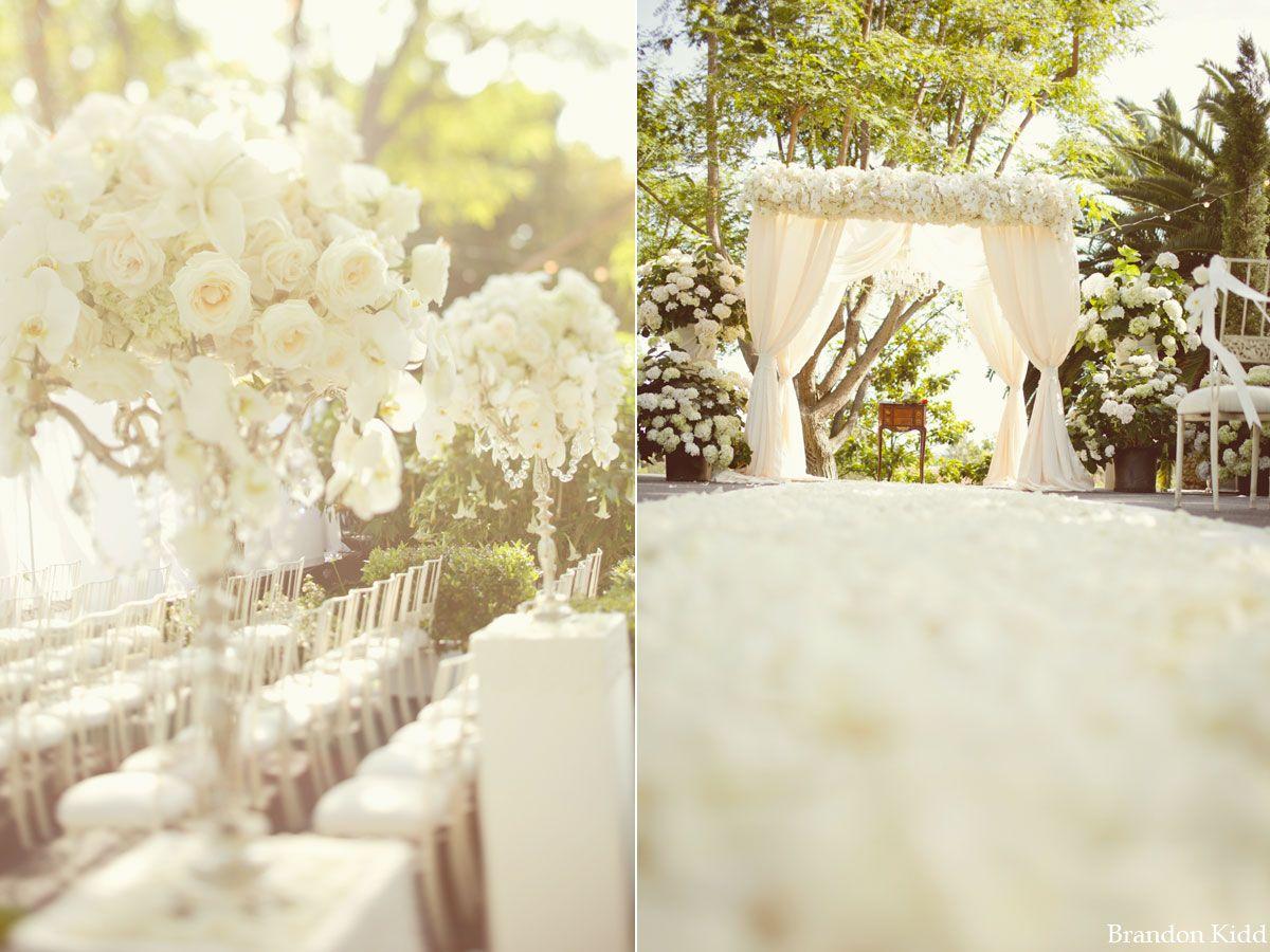 Love The All White Flowers Wifey Wish List Pinterest Chuppah