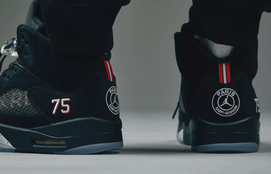 Air Jordan 5 Retro 'Paris Saint Germain' #airjordan #jordan