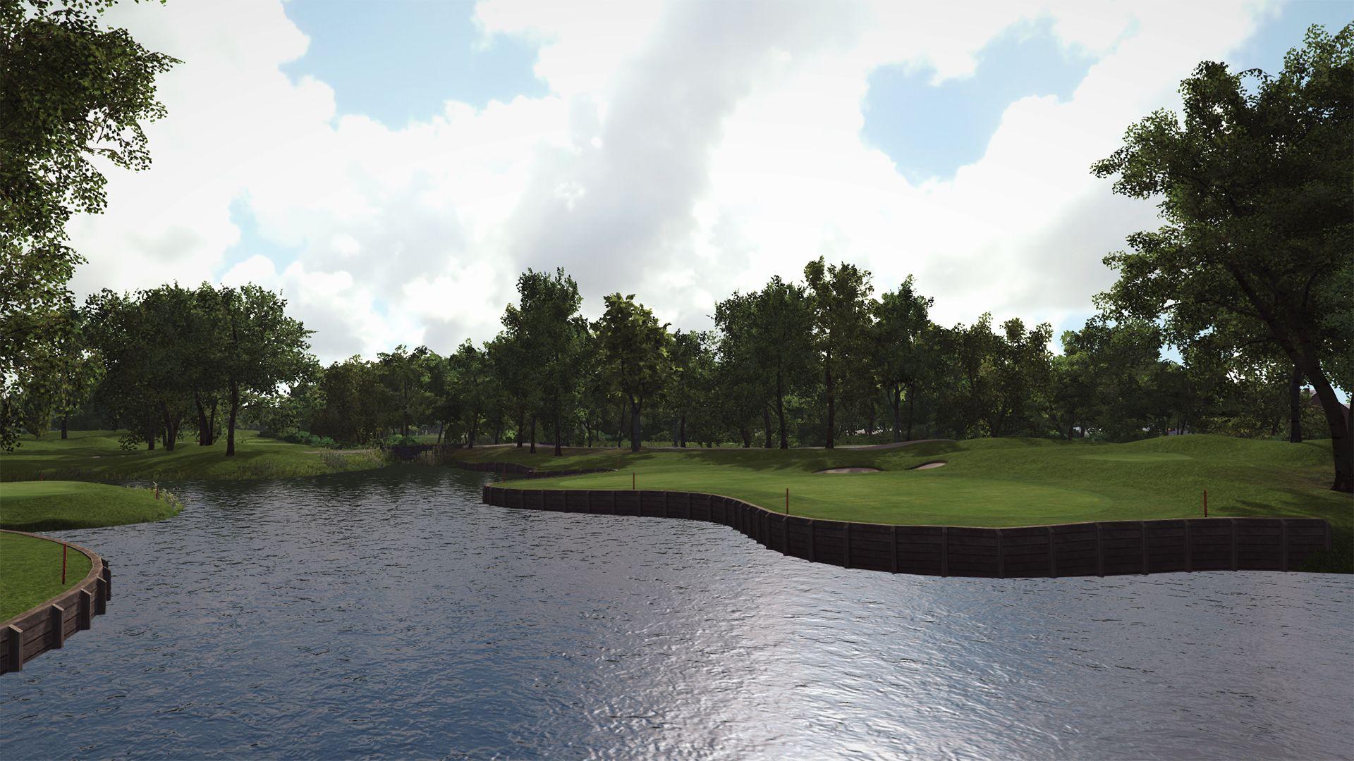 Trackman Simulator Course Kempferhof Golf Club Golf Simulators Indoor Golf Simulator Simulation