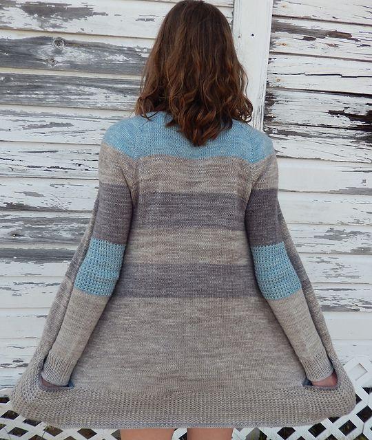 BlueSand by La Maison Rililie: FO by Maya-Elizabeth on ravelry. #knitting #pattern #knitindie