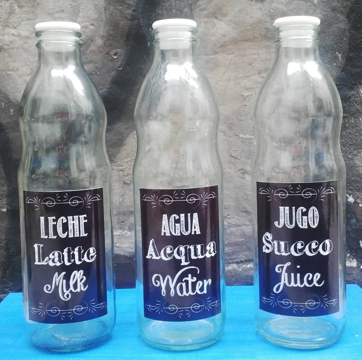 Botellas de vidrio decoradas buscar con google vasos vintage pinterest - Botellas de cristal decoradas ...