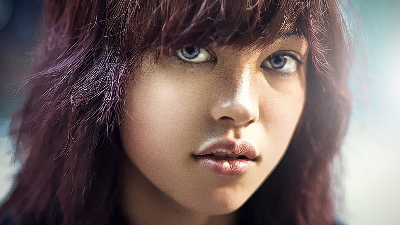 How to retouch airbrush smooth skin professionally in