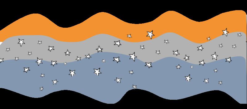 Aesthetic Ondas Con Estrellas Para Apuntes Digitales En 2020 Decoracion De Cuadernos Escolares Decorar Hojas De Cuaderno Decoracion De Cuadernos