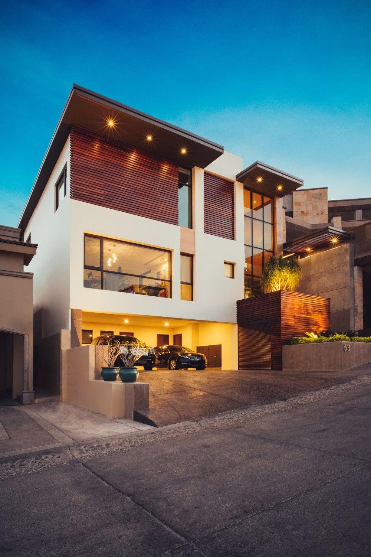 Residencia 53 imativa arquitectos bachelor pad for Fachadas de casas modernas en hermosillo
