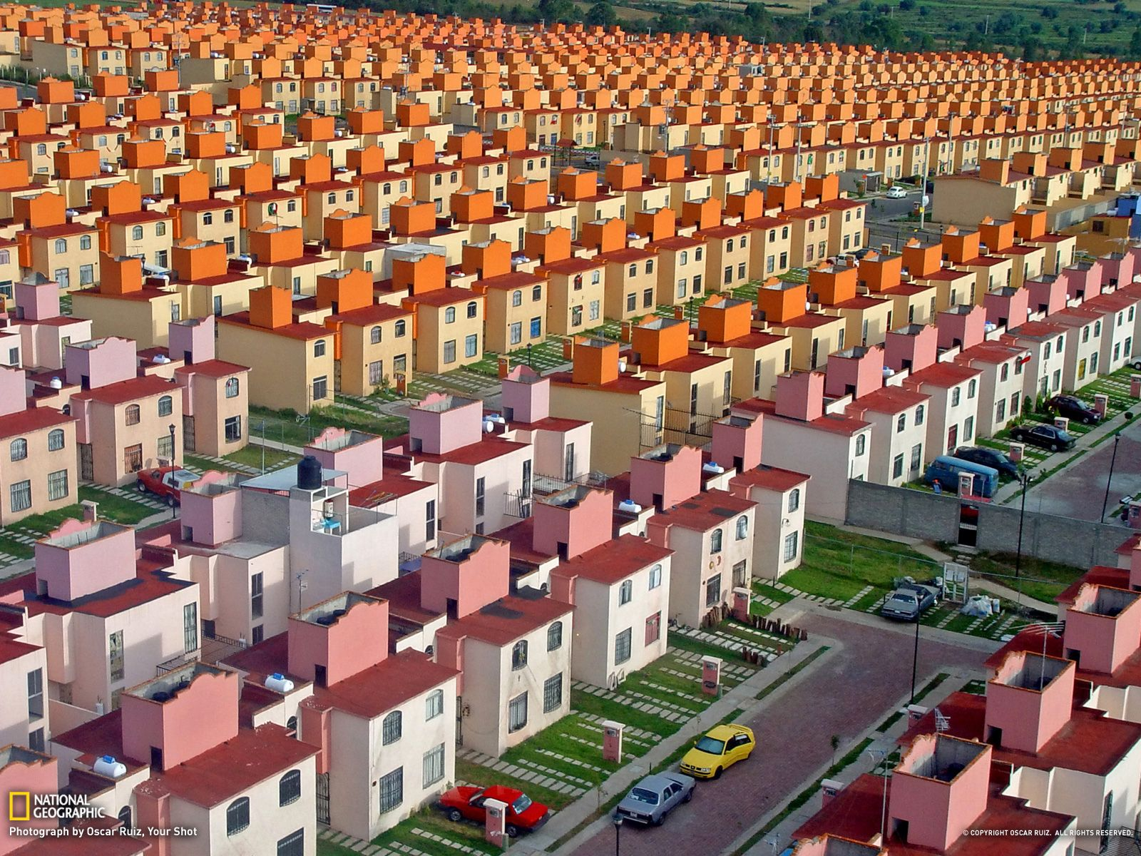 Photo of the day buenaventura national geographic and architecture photographer oscar ruiz is behind the shot above of a housing development in mexico the recently built san buenaventura complex which is located in sciox Images