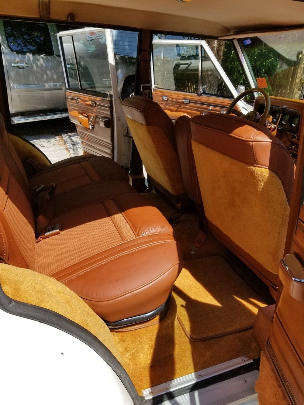 Jeep Grand Wagoner Interior Upholstery Jeep Classic Cars Old Classic Cars