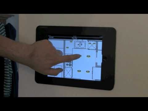 Step By Step Diy Wall Mounted Ipad Controller Home Automation System Home Automation Smart Home Automation