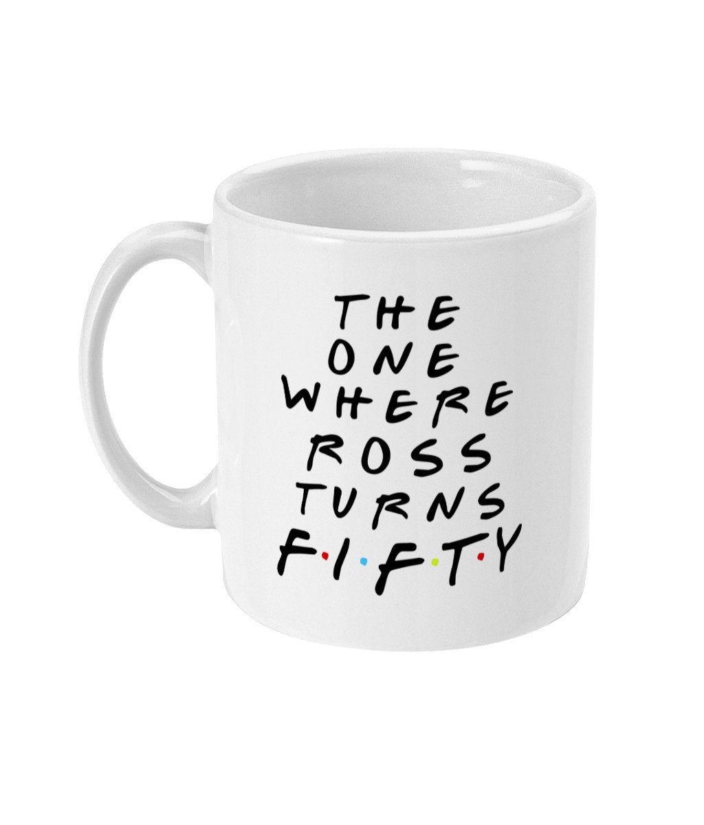 50th birthday gift for man personalised 50th birthday mug