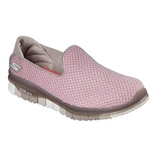 Women's Skechers GO Flex Walk Lotus Slip On Walking Shoe