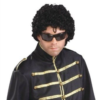 Eazy E Jheri Curl Wig