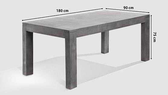 Betontisch wohnzimmer ~ Sieht aus wie jan kurtz betontisch und hat auch dieselben maße