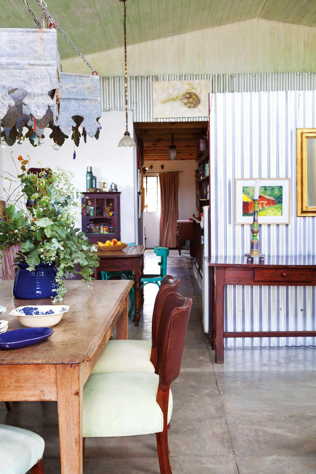 Una Casa Con La Belleza De Lo Heredado Comedores R Sticos  # Muebles Cautivo