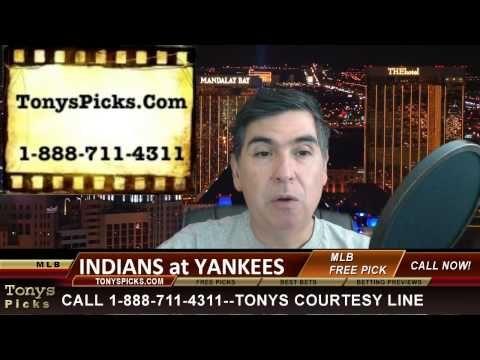 Cleveland Indians versus New York Yankees MLB Pick Prediction Betting Li...