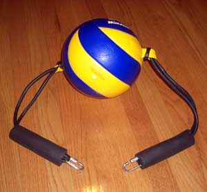 Volleyball Spike Trainer (Volleyball Training Equipment) Ball ...