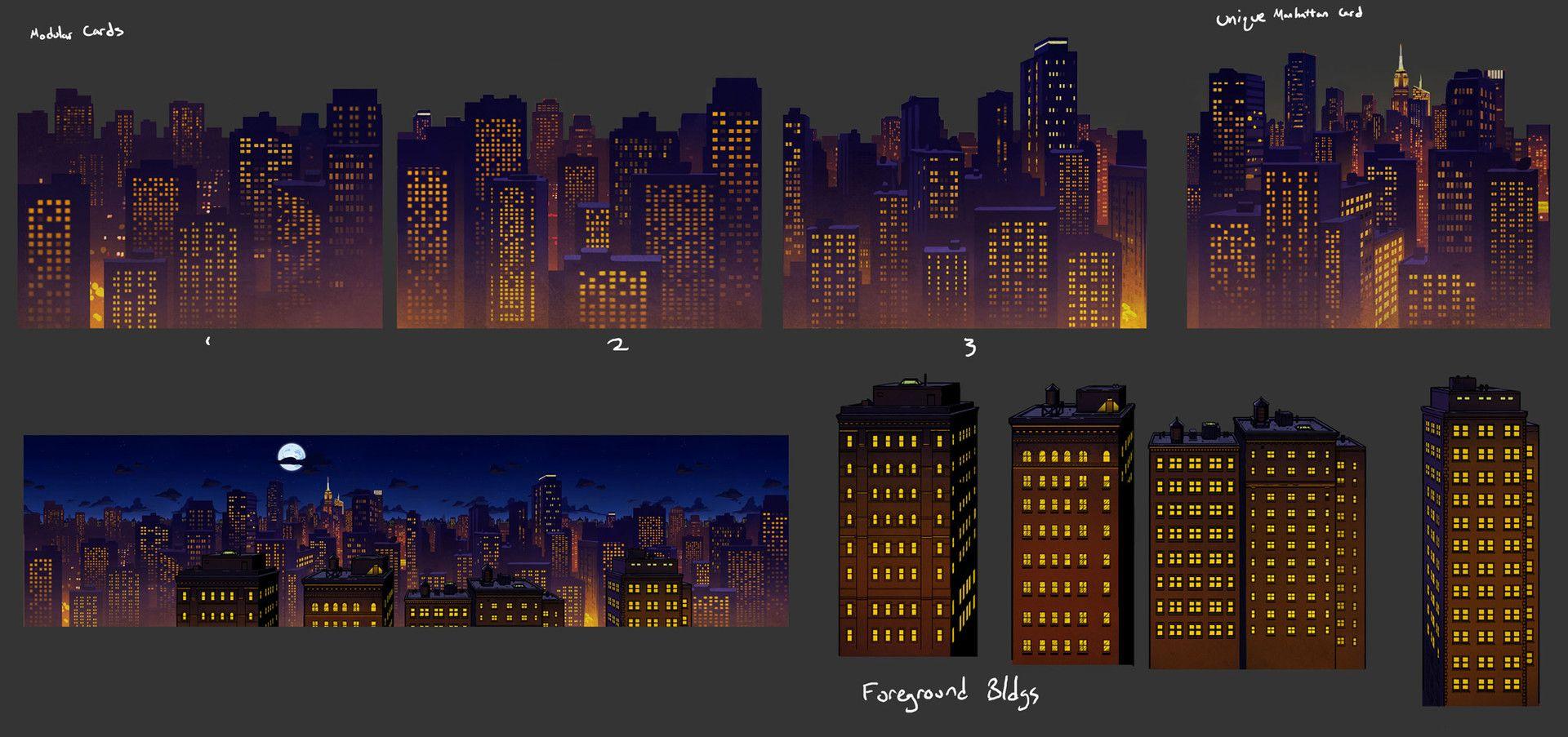Artstation The Wolf Among Us Concept Art Gray Rogers The Wolf Among Us Concept Art City Illustration