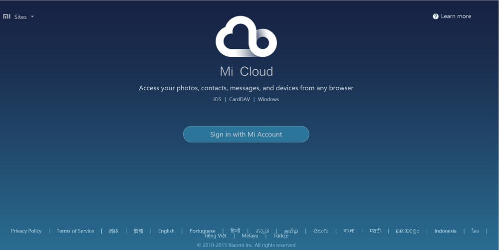 Download Mi Cloud Desktop app for Windows, Mac- Access your Mi