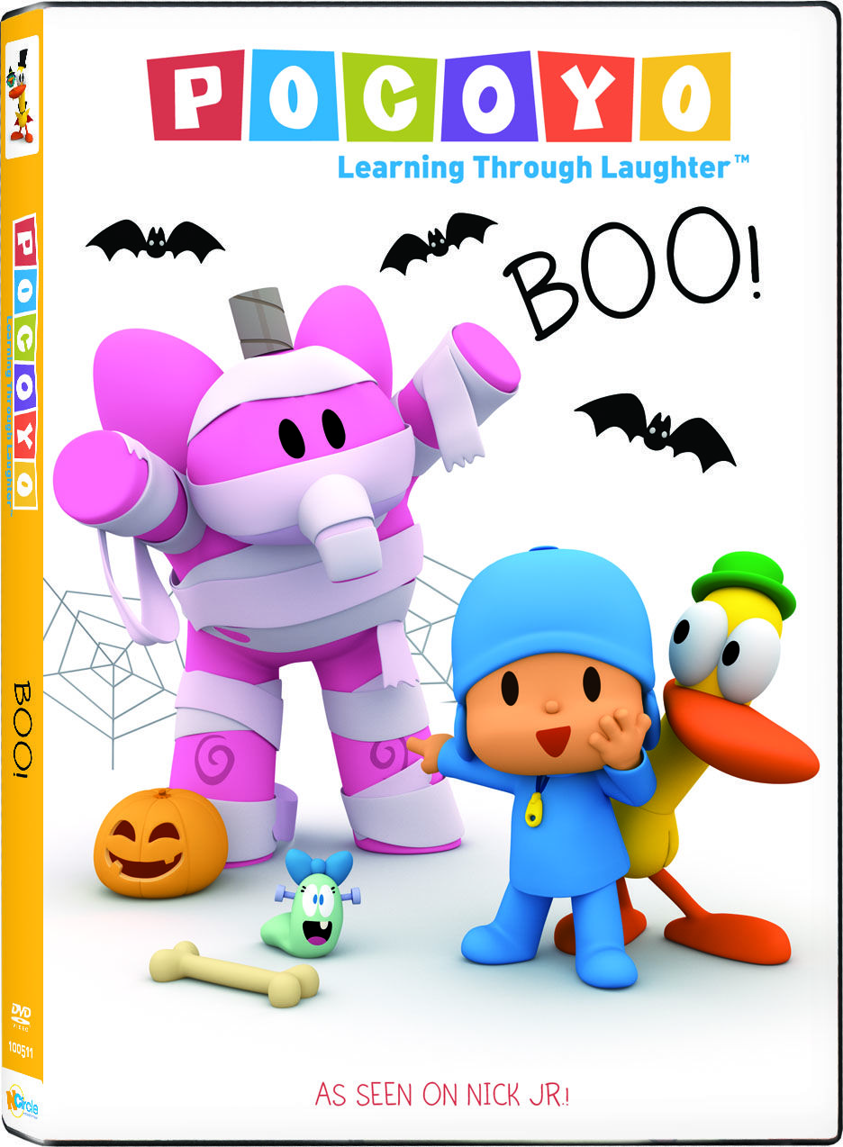 Join Pocoyo and his friends on playful Halloween
