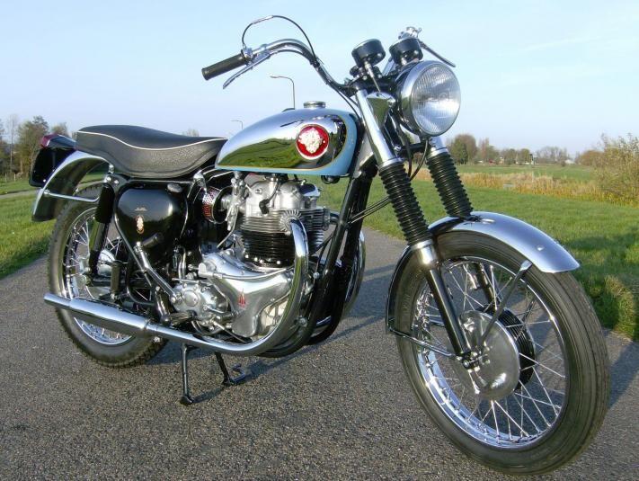 1959 Bsa A10 Super Rocket Midamerica Auctions Classic Motorcycles Bsa Motorcycle Motorcycle