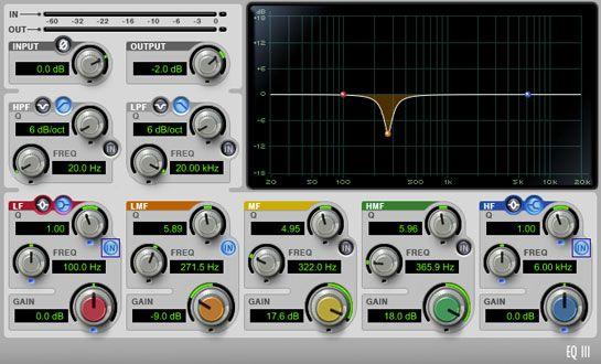 ecualizador siendo usado para sustraer frecuencias, produccion musical, https://promocionmusical.es/produccion/:
