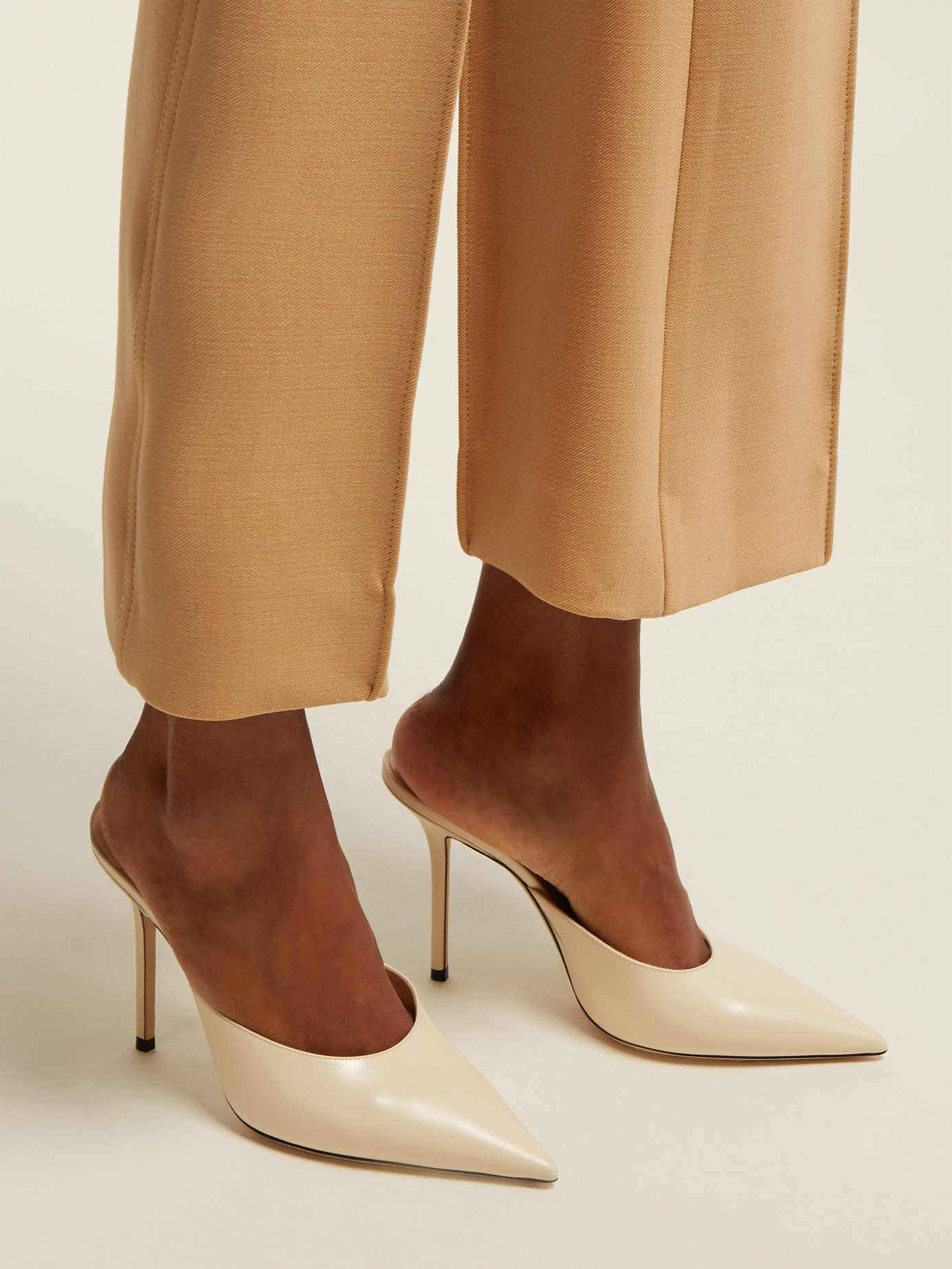 752451d1f187d Rav 100 leather mules | Jimmy Choo | MATCHESFASHION.COM | Style in ...