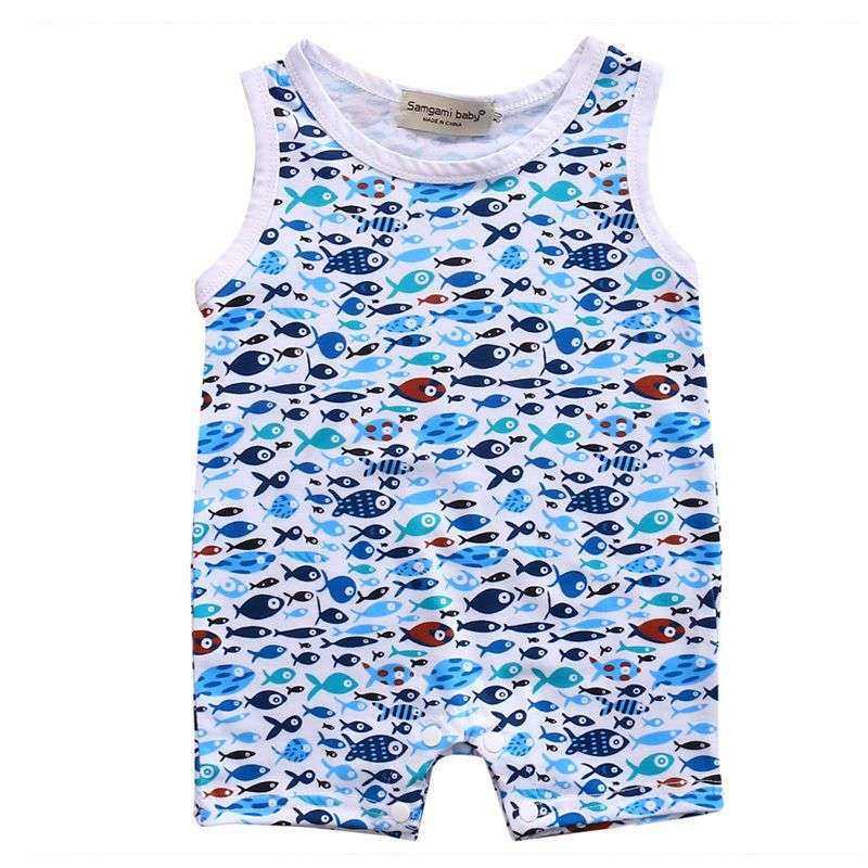 caef5ca21 Click to Buy    Shark Pattern Newborn Toddler Infant Baby Boy Girl ...
