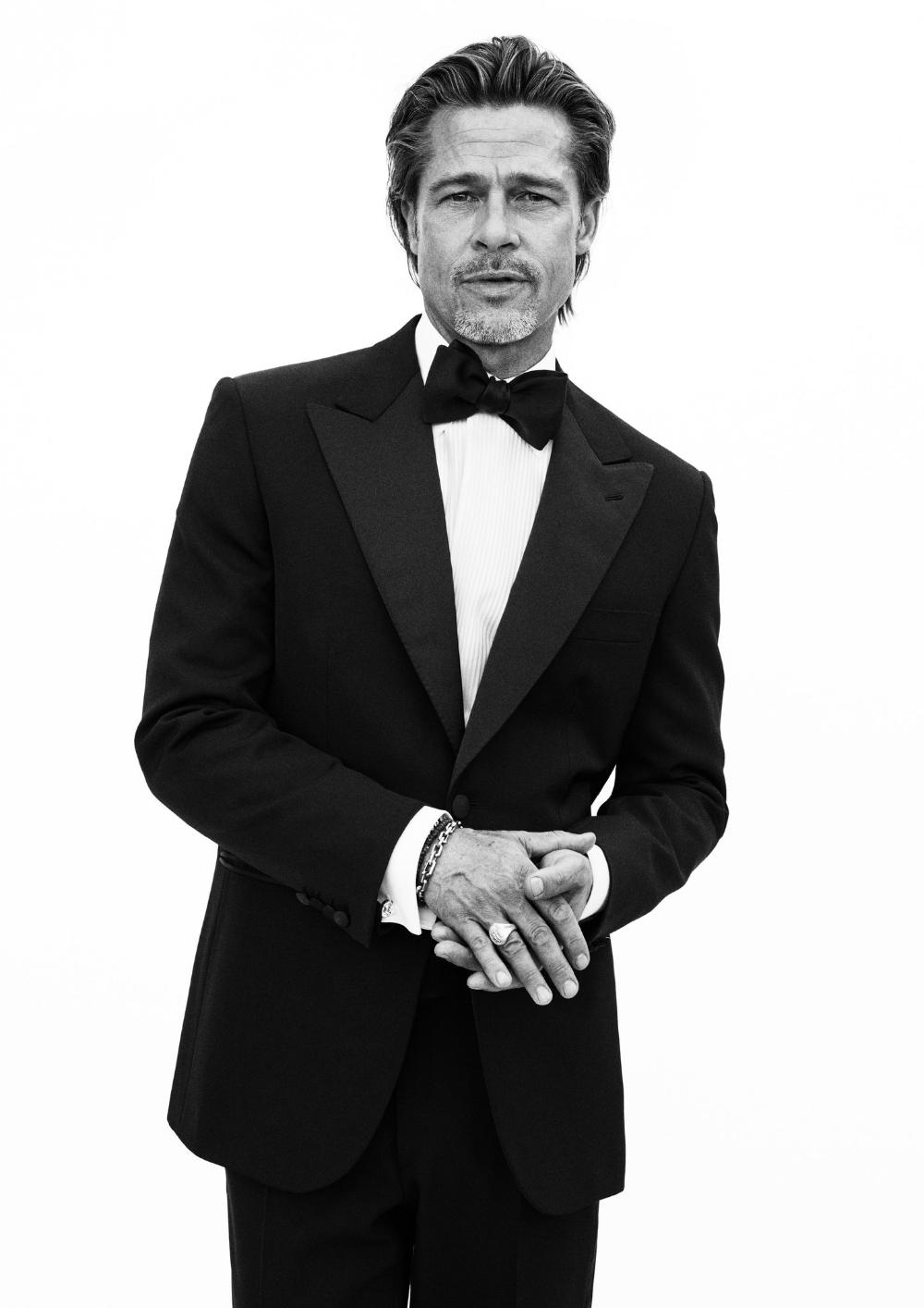 Magazine Covers On Twitter Brad Pitt Well Dressed Men Brioni