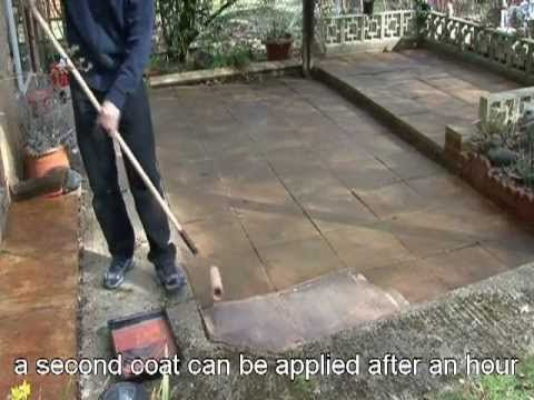 Seal U0027nu0027 Tint Video, So Easy To Apply To Patios Or Any Bare Concrete.
