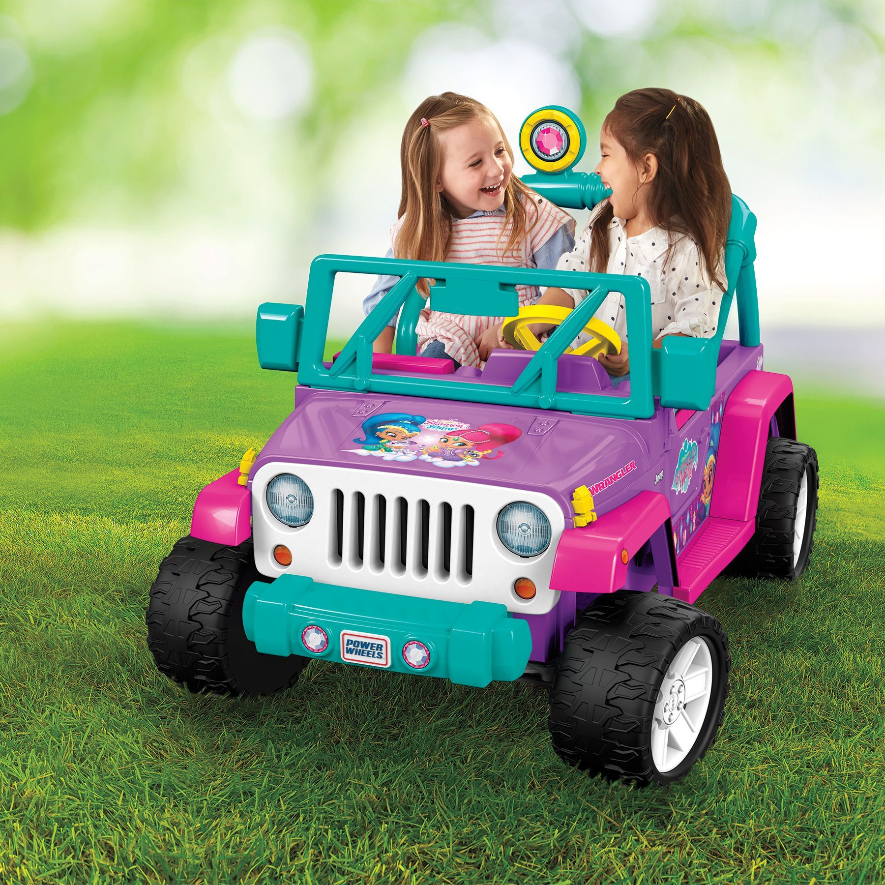 Jeep toys images  Power Wheels V Battery Toy RideOn  Shimmer and Shine Jeep